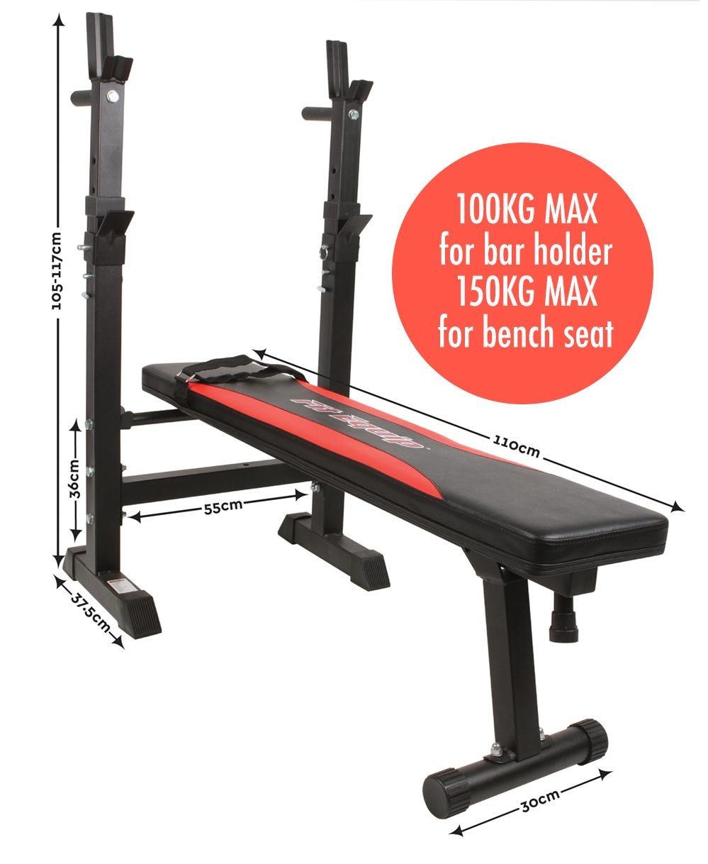 New fit equip bench press multi station upper body home