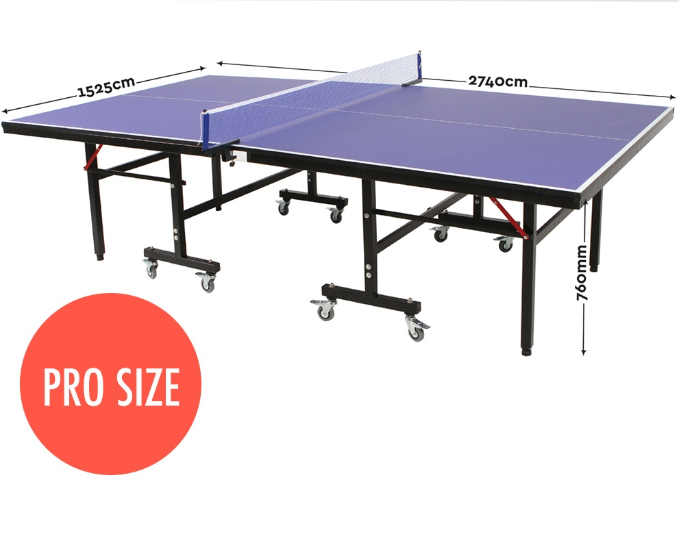 Table tennis ping pong table pro size 19mm top ittf approved manufacturer - Dimensions of a table tennis board ...