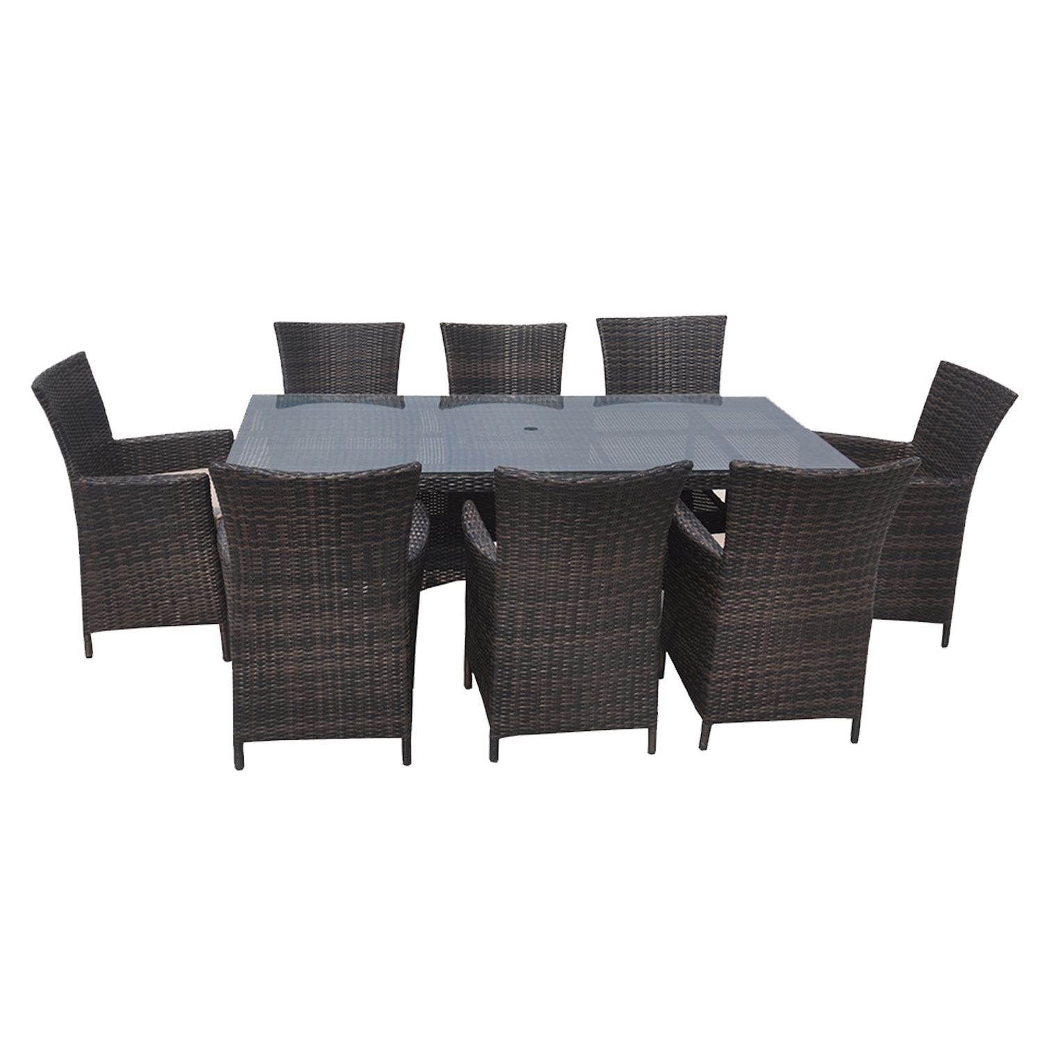 new sunset balangan wicker rattan sofa lounge outdoor 9pc. Black Bedroom Furniture Sets. Home Design Ideas