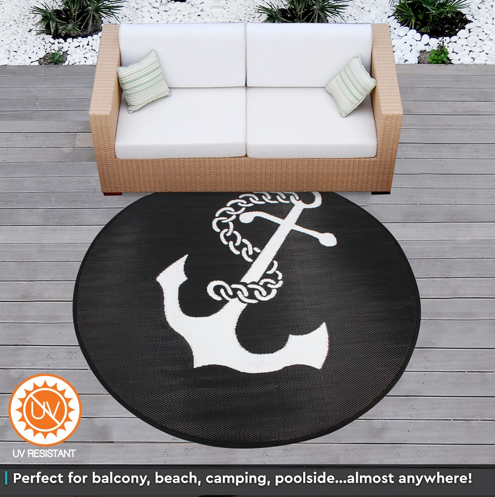 Plastic Outdoor Rug Mat: Outdoor Plastic Rug Mat Recycled Polypropylene Patio 200cm