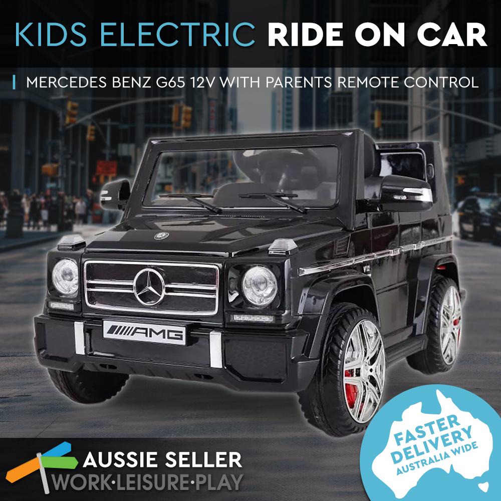 Kids electric ride on car mercedes benz 12v children 3 for Kids mercedes benz car