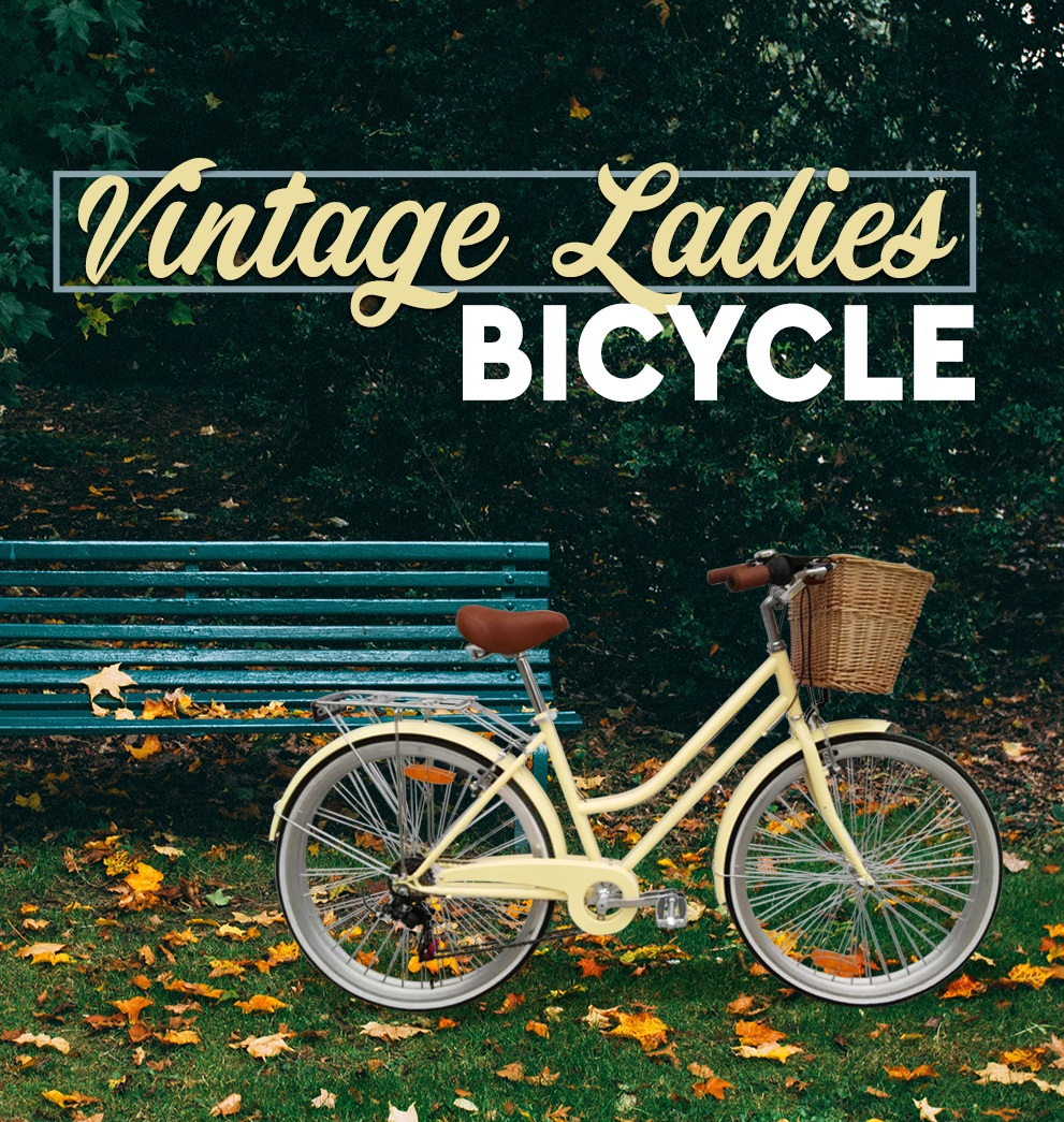 Brand-New-Vintage-Retro-Ladies-Bicycle-Bike-6-Speed-Beach-Cruiser-Freight