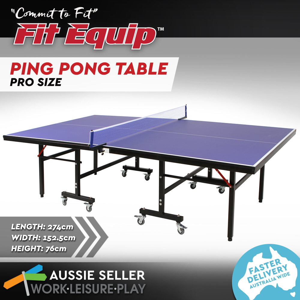 New pro table tennis ping pong table 19mm top ittf - What is the size of a ping pong table ...