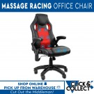 8 Point Massage Executive Racing Office Chair | Red