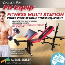 Multi-Station Weight Bench Press   Fit Equip