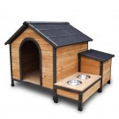 Extra Large Pet Dog Kennel Timber House Wooden Cabin