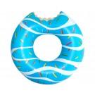 Inflatable Blue Glazed Donut w/ Bite