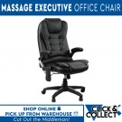 8 Point Massage Executive Home Office Chair | Pick Up Only