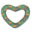 New Giant Heart Swim Ring Bird of Paradise Inflatable